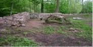 Mauerreste Burg Breydin