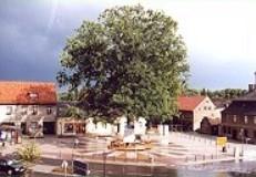 Marktplatz von Biesenthal